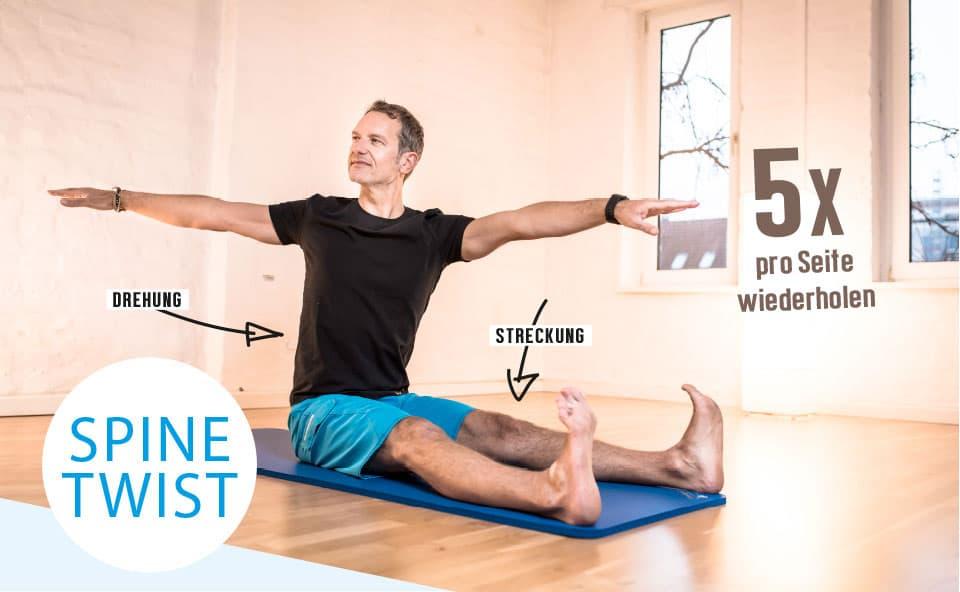 spine twist1 - Teil 1: SAW & SPINE TWIST