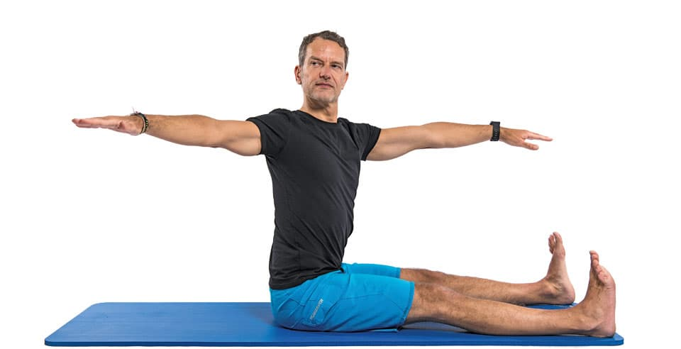 Pilates Übung Spine Twist