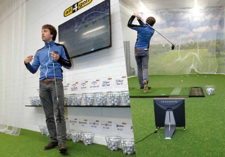 Golf Ball Fitting GOLFnStyle 2 - Ball-Fitting  - testen lohnt sich!