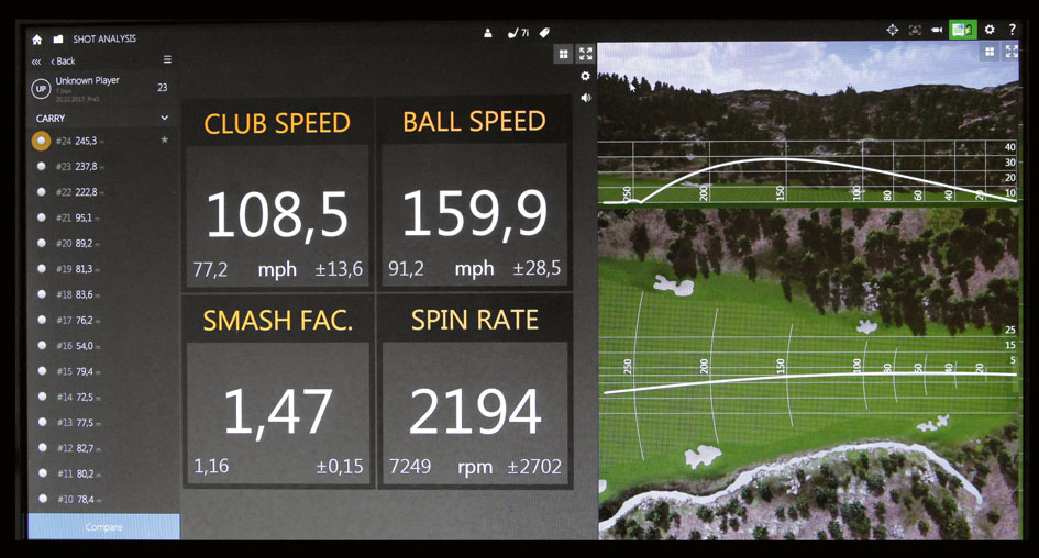 Golf Ball Fitting Trackman 1 1 - Ball-Fitting  - testen lohnt sich!