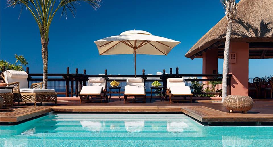Imperial terrace Pool and Sunbeds - The Ritz Carlton, Abama - Teneriffa