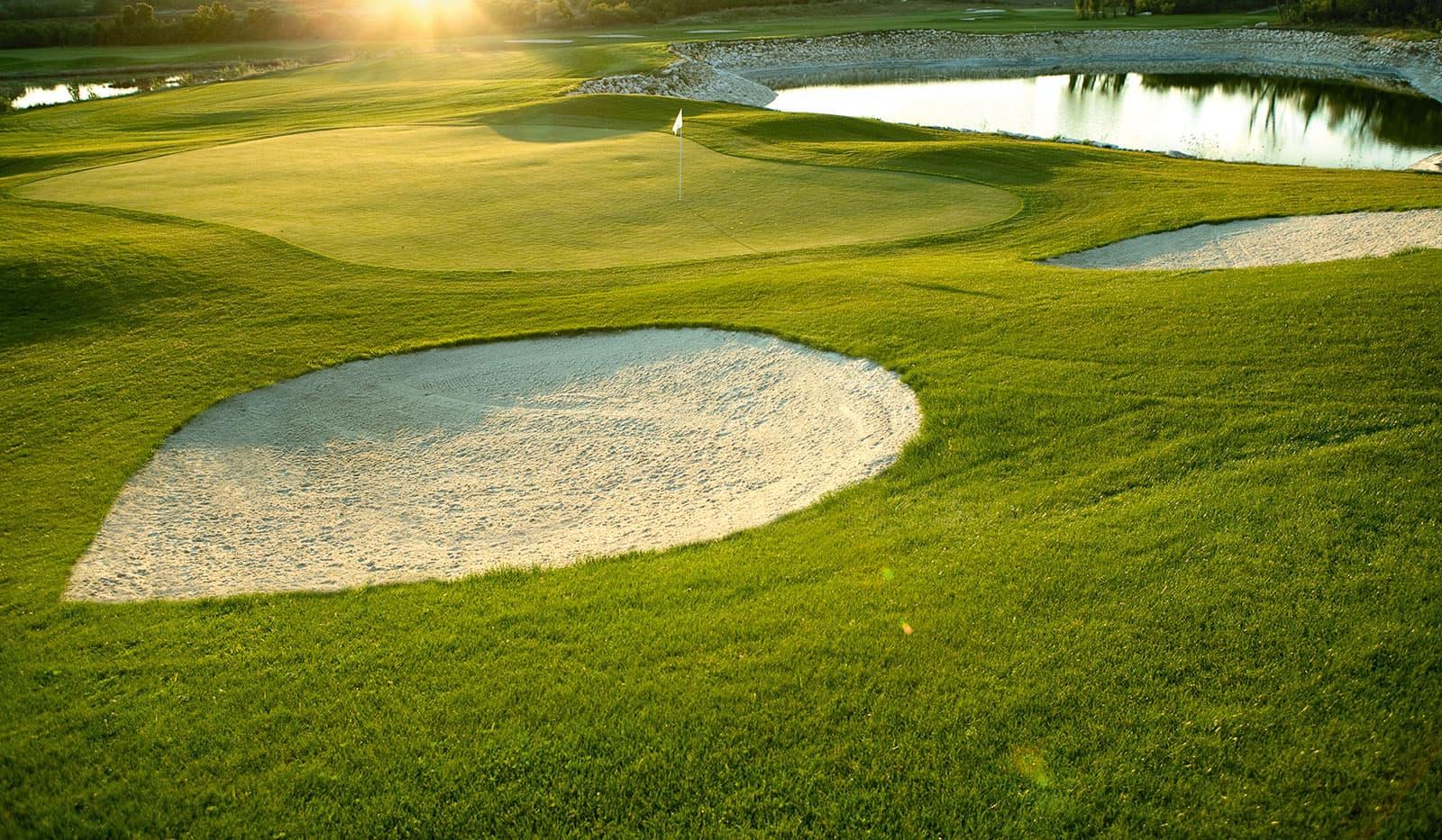 Kempinski Hotel Kroatien Golfanlage