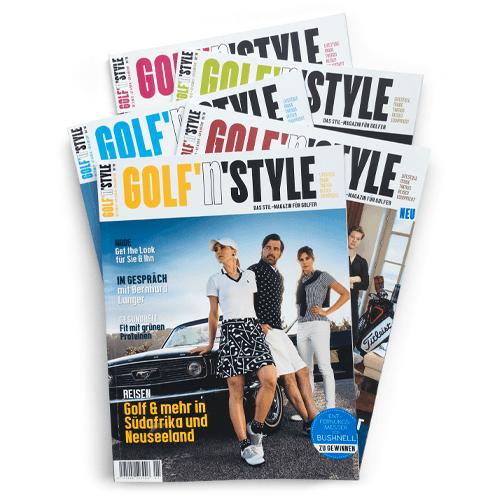 abo 1 - Golf'n'Style Jahresabo (5 Ausgaben)