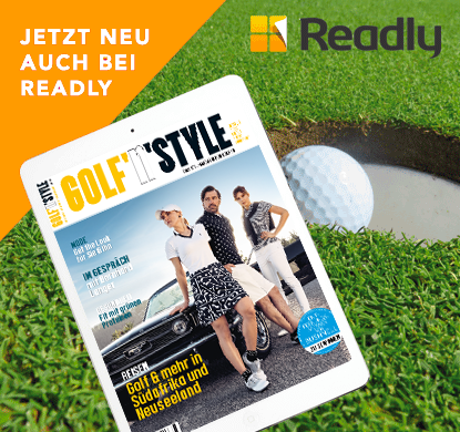 anzeige readly - Golf'n'Style