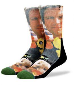 Socken mit Statemant