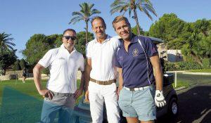 3 Golfer auf Mallorca