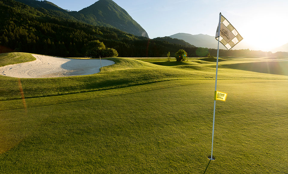 Dolomitengolf Resort Golfplatz