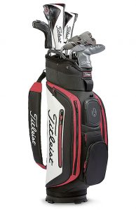 Titleist Golftasche mit Schlägern