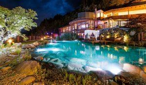 Event-Sauna des Sport & Wellness Resorts Quellenhof