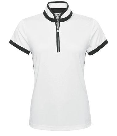 daily sports Poloshirt weiss