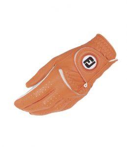 footjoy damen handschuh orange