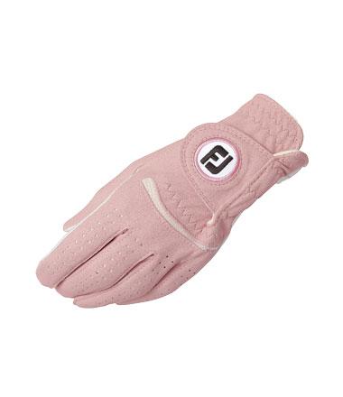 footjoy damen handschuh rosa