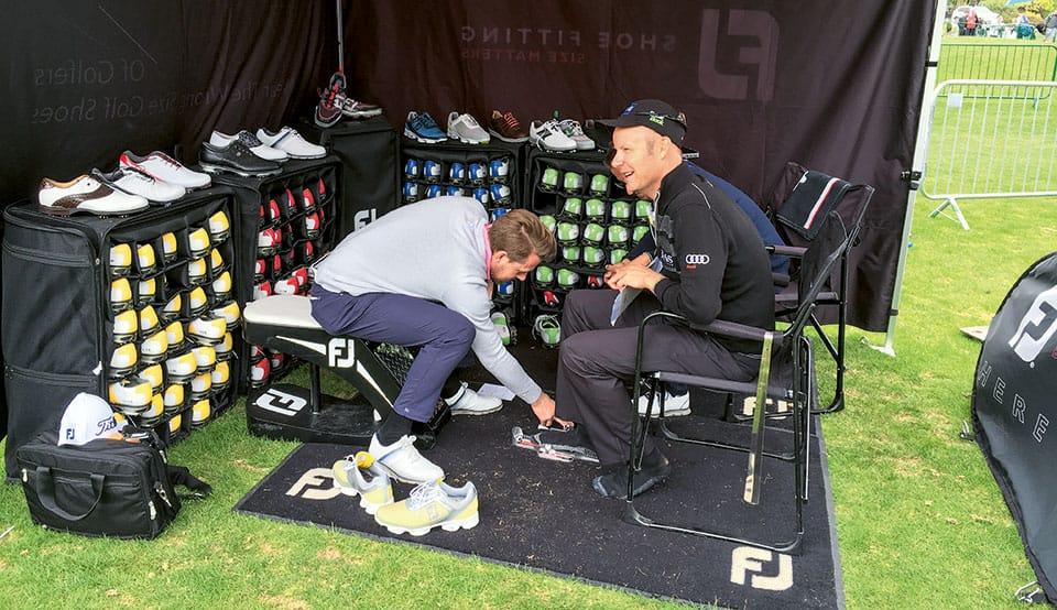 FootJoy Schuh-Fitting
