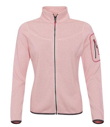 icepeak fleecejacke rosa