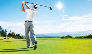 Sonnenschutz beim Golfen