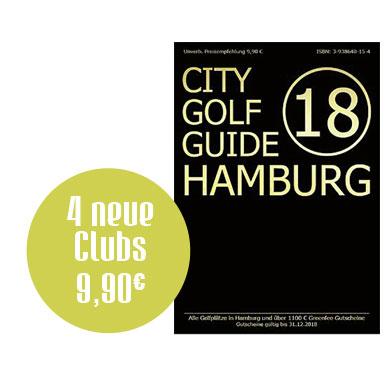 Buchcover City-GolfGuide-Hamburg-2018