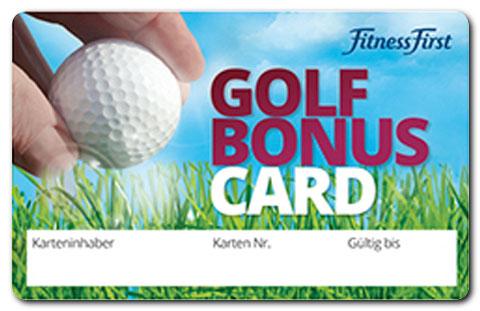 Golf-Bonus-Card