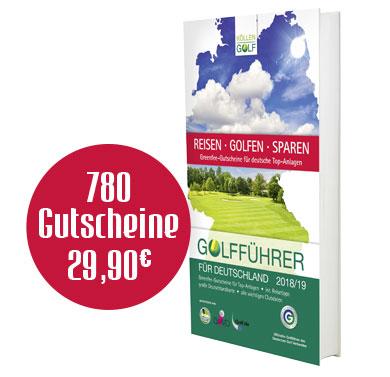 Buchcover Golfführer für Deutschland