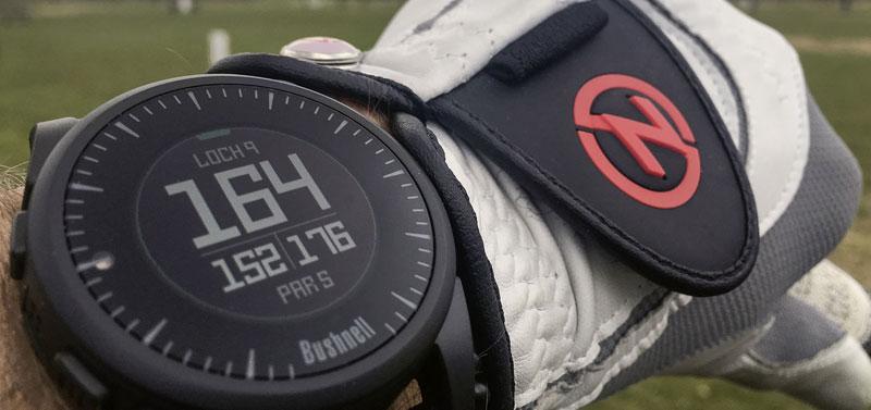 Bushnell GPS Uhr im Ausseneinsatz