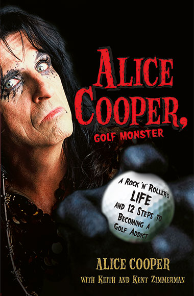 Golf Bücher Alice Cooper