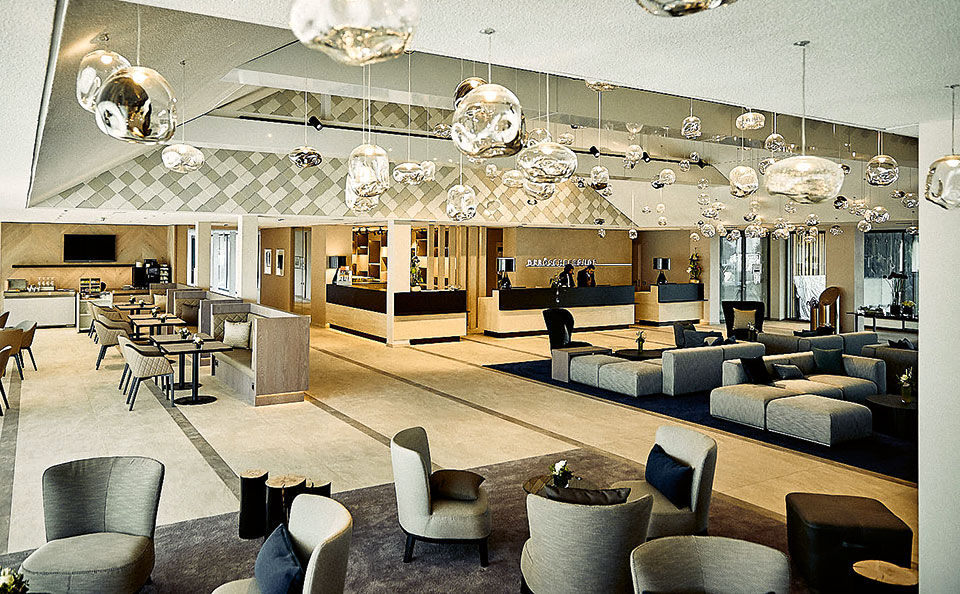 Halle von Oben - Der Öschberghof - Golf & Spa im großen Stil