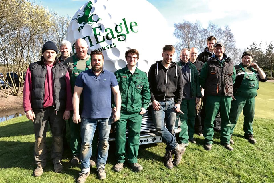 greenkeeper team - Der Mann fürs Grüne bei Green Eagle Golf