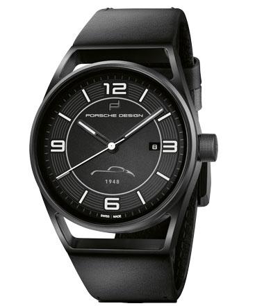 Porsche Uhr, schwarze Sonderedition