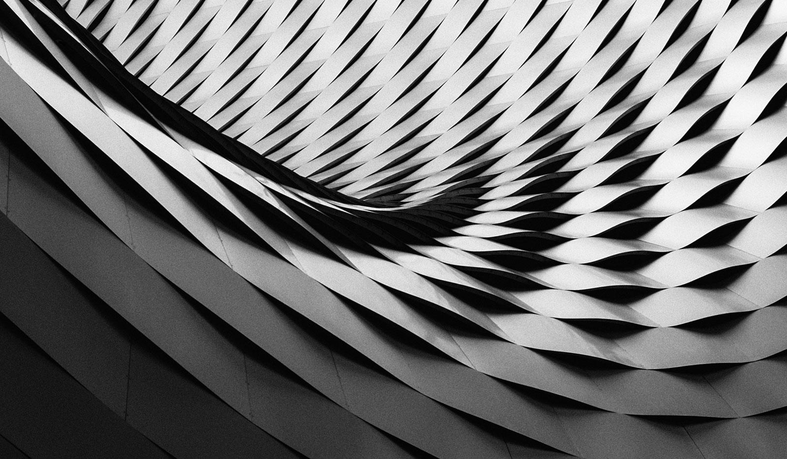 Muster schwarz-weiss