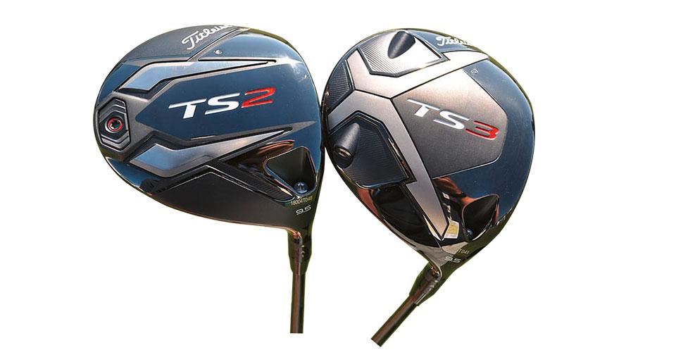 Golfschläger TS2 und TS3 von Titleist.
