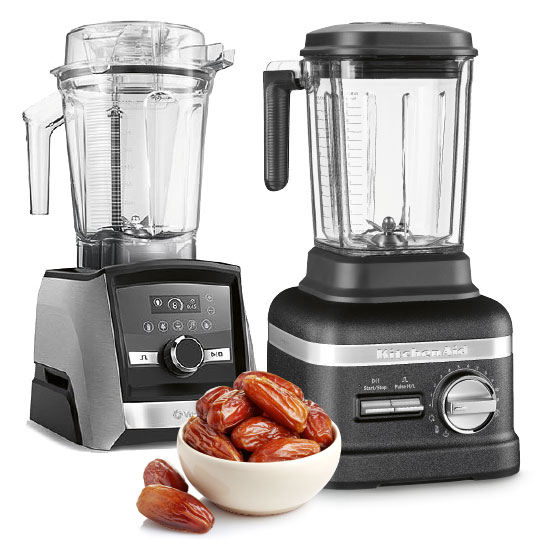 Ascent A3500i (Vitamix) und Power Blender Plus (KitchenAid)