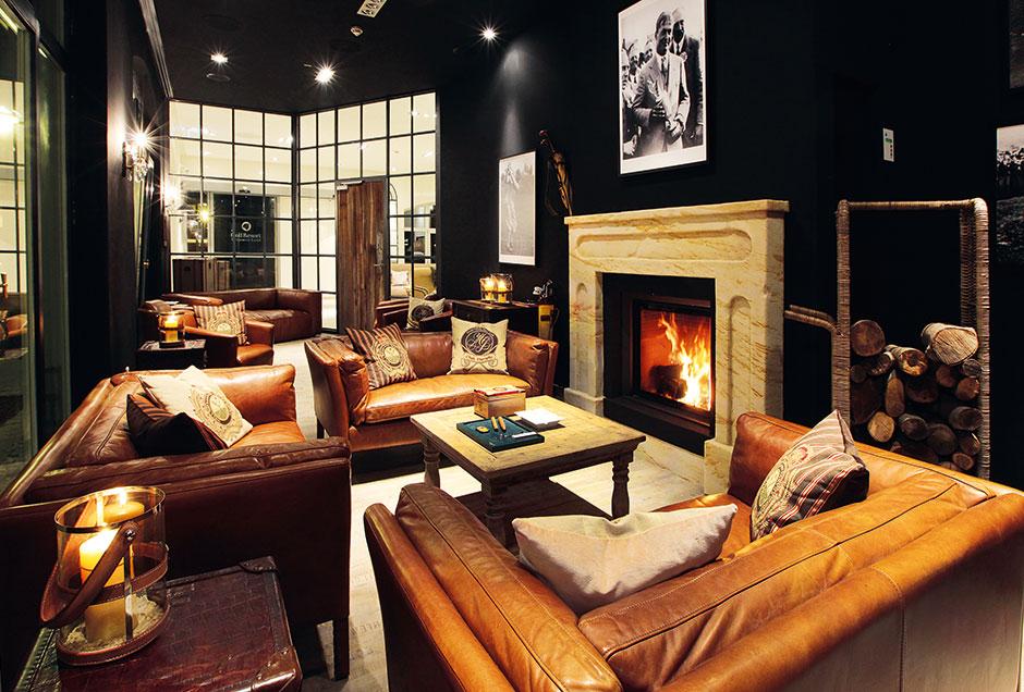 Die Bobby Jones Smokers Lounge des Spa und Golf Resorts Weimarer Land