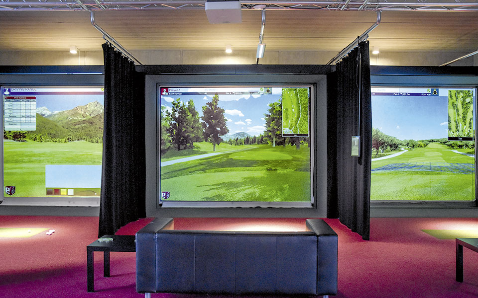 New Golf Lounge Indoor-Anlage