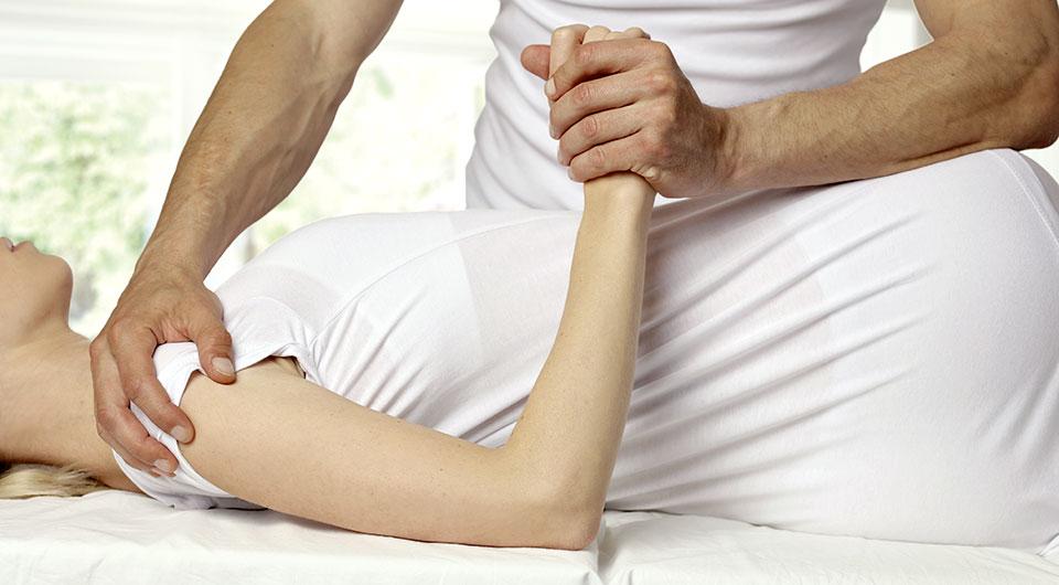 Therapie bei Schulterschmerzen