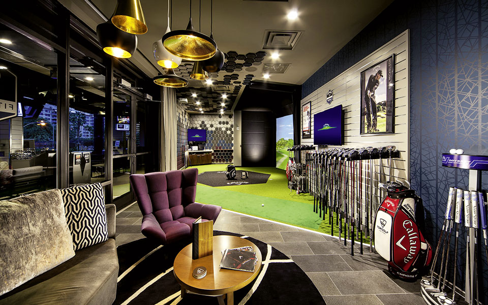 Topgolf Las Vegas Lounge