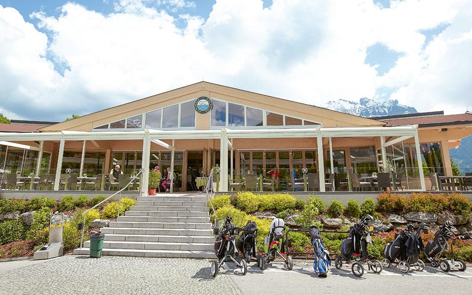 Clubhaus des Golf- und Landclubs Achensee