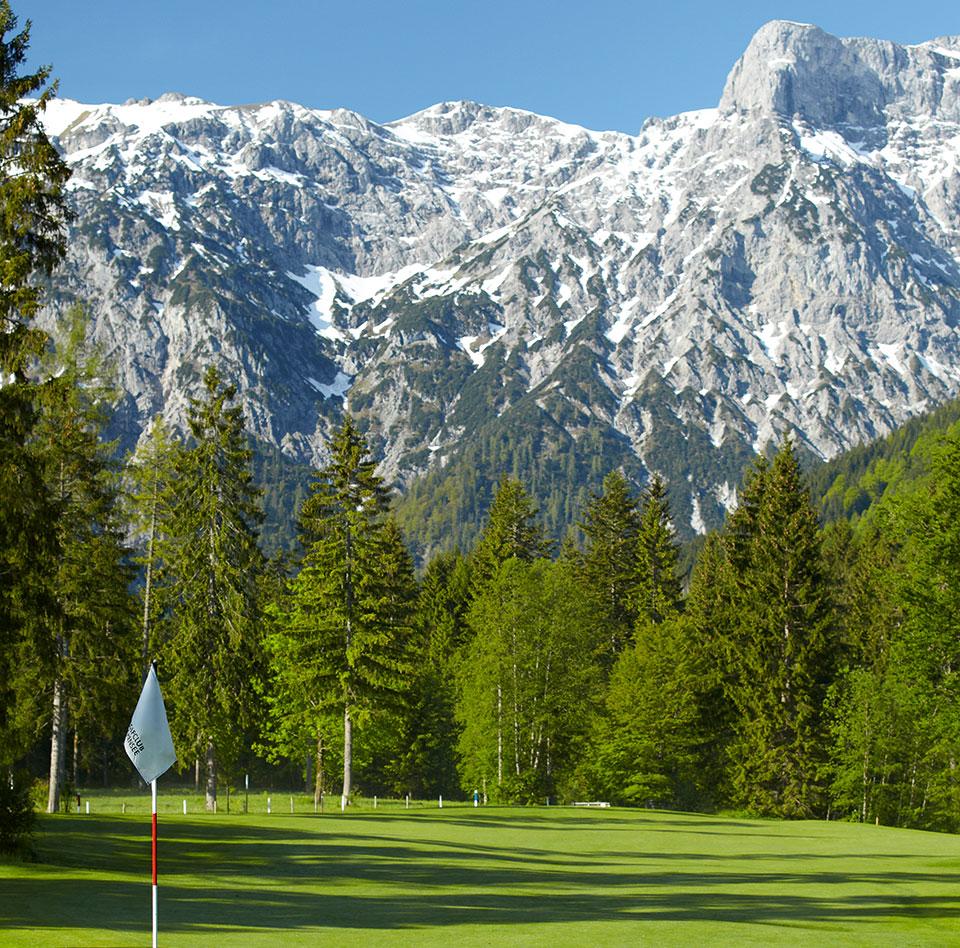 Aussicht Golfplatz Achensee