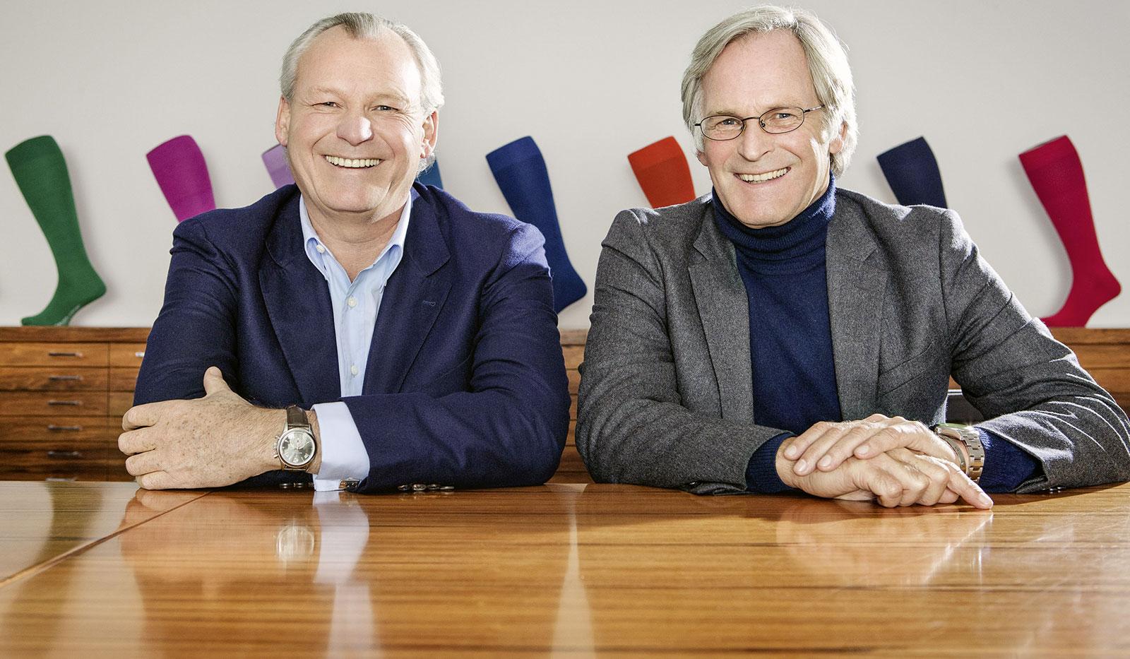 Die Cousins Paul Falke (li.) und Franz-Peter Falke