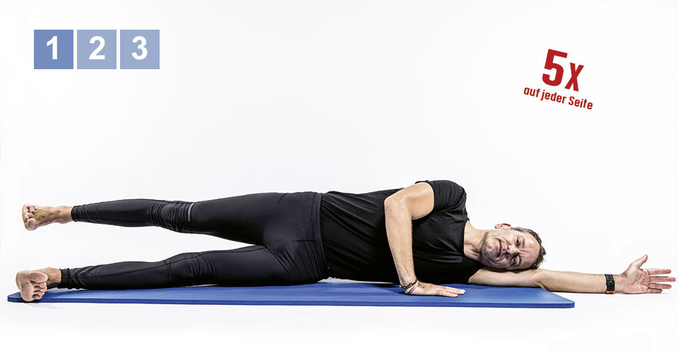 Pilates 1 - Teil 5: Side Lying