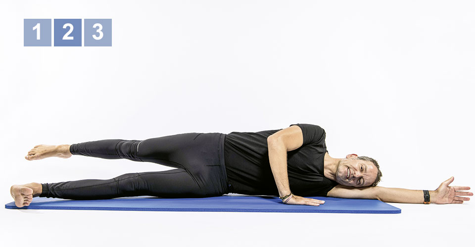 Pilates 2 - Teil 5: Side Lying