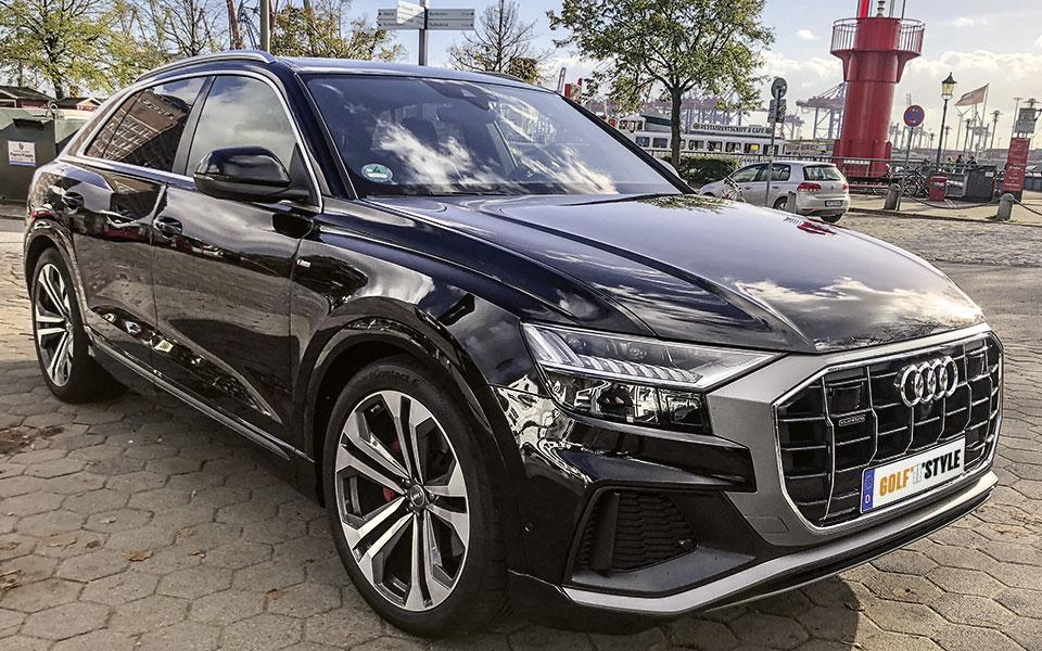 Audi Q8 Außenansicht