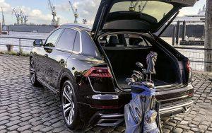 Audi Q8 Heckansicht