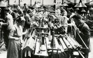 Stricksaal 1924