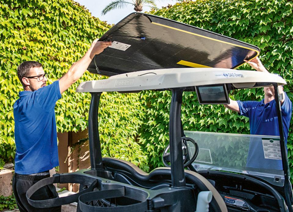 Solar-Golfcarts Alcanada
