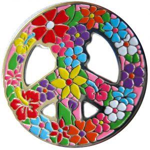 """""""Flower Peace"""" Ballmarker"""