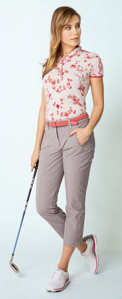Golferin-Outfit