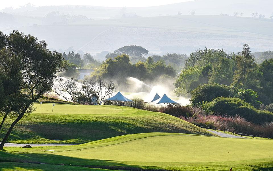 Golfplatz De Zalze Stellenbosch, SA