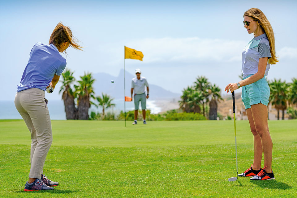 Einzigartige Golfplätze spielen – mit dem attraktiven Aldiana Golfpackage.