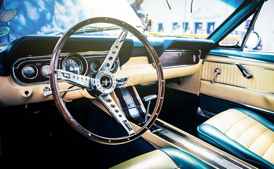 Innenraum Mustang