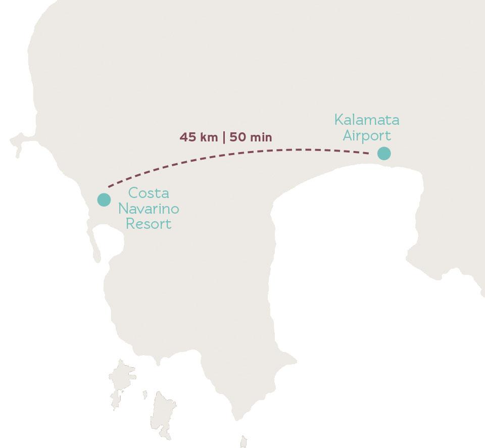 Karte Griechenland, Kalamata