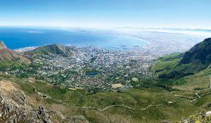 Panorama Küste Südafrika